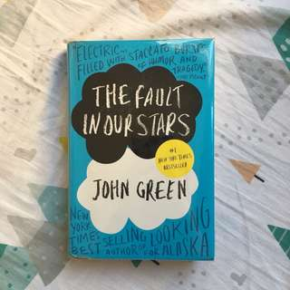The Fault In Our Stars HardBound