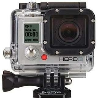 GoPro Hero 3 Silver + accessories