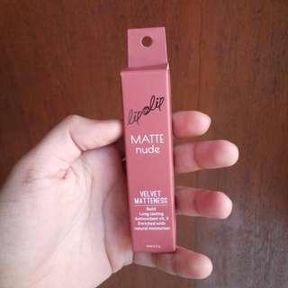 Lip on Lip Matte Nude (Baru 2 kali Swipe, kondisi 95% lyk New)