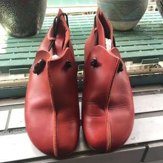 🚚 真皮 復古 古著 女鞋
