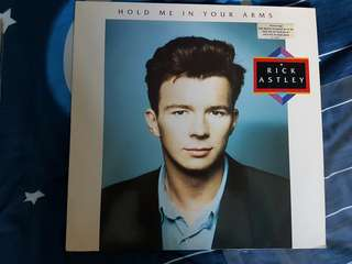 Rick Astley Hold Me In Your Arms Vinyl LP