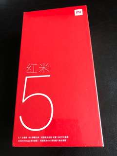 全新紅米5 Brand New MI5