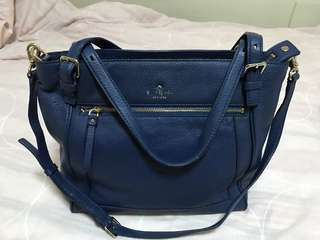 Authentic Kate Spade Cobble Hill Peters Leather Bag