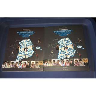 SUJU/SJ/SUPER JUNIOR - PHOTOBOOKS & DVDS
