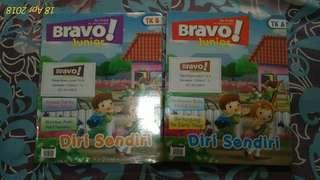 Buku aktivitas anak TK A dan TK B Bravo