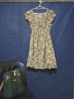 Dress (Low V neckline)