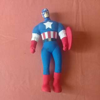 Marvel Heroes Captain America Action Plush