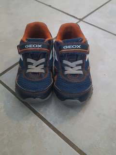 Boys Geox running shoes