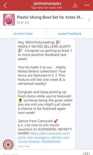 Thank you Carousell for featuring us! 💯Guaranteed Authentic Products