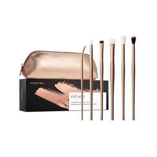 100% authentic Morphe eye slay brush set with bag