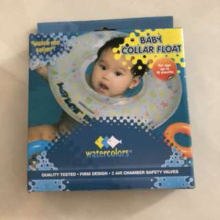 Baby collar float