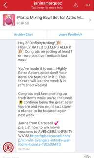 ‼️Thank you Carousell for featuring us‼️