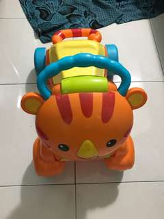Fisher Price Stride and Ride Tiger