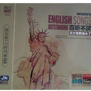 English Songs Outstanding 百听不厌 英文老歌缘未了 3CD (Imported)