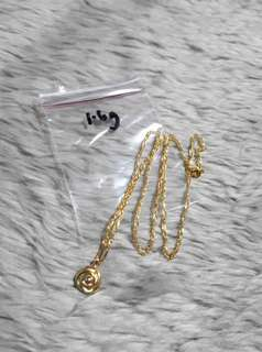 18K PAWNABLE NECKLACE