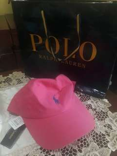 Topi Polo Ralph Lauren Pink BNWT