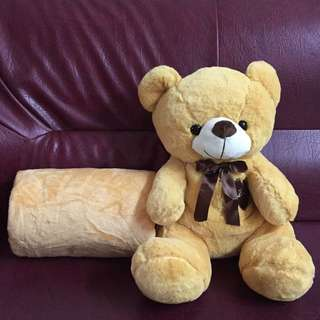 Teddybear With Blanket