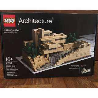 Lego Fallingwater Mill Run, Pennsylvania