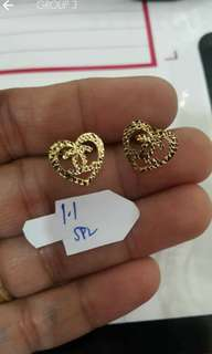 Gold Earrings (pre order)