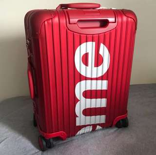 Want to buy supreme rimowa 45L