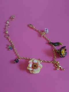 Les Nereides Paris Charm Bracelet (Authentic)