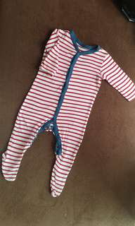 Mothercare Sleepsuit 6-9m Preloved