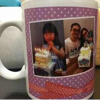 Personalized photo mug, photo printing mug, birthday gift, unique gift ideas