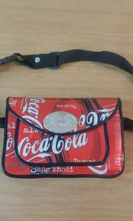 Coca cola collection bag