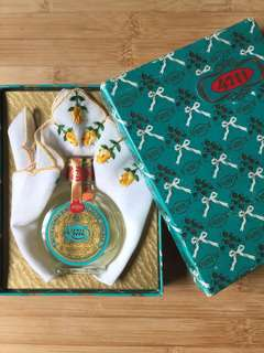 Vintage 4711 25ml cologne and handkerchief set