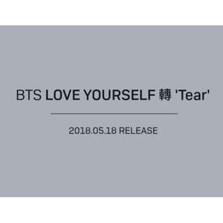 [PROMOTION][PO SET] BTS - Love Yourself: Tear (all 4 versions + 4 diff posters)