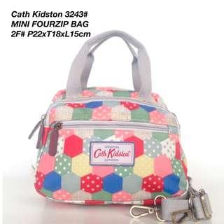 Tas Wanita Cath Kidston Selempang Mini Four Zipped Bag 3243 - 6