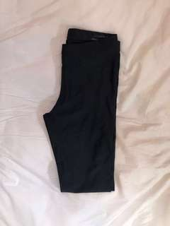 American Apparel pleather leggings