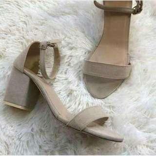 Block Chic Heels
