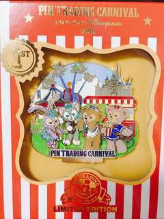 香港迪士尼 pins training 限量 duffy shelliemay stellalou gelatoni