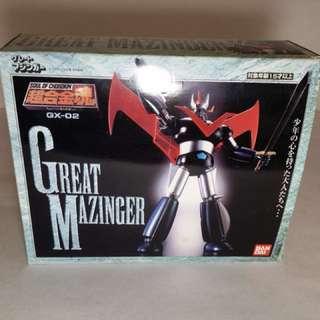 Bandai Great Mazinger gx 02