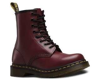 Doc Martens Cherry Boots