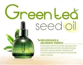 Innisfree Greentea seed oil