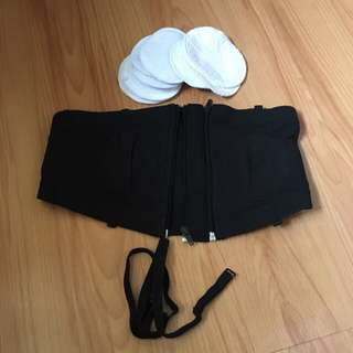 Hands free Pump Bra with FREE 15 pcs. washable pads