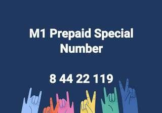 M1 Prepaid Special Number