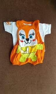 New - Baju Kodok 6-9m Orange