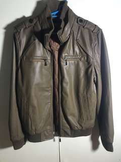 MerGer Brown leather jacket