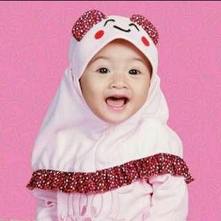 Jilbab Anak Emoticon JB004
