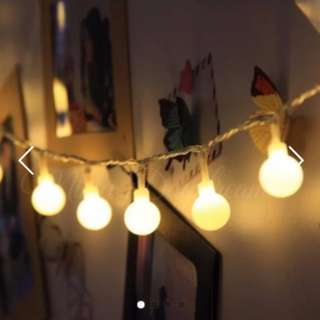 Bulb Fairy Lights (Battery Operated)