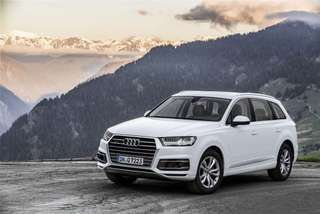 Luxurious New Audi Q7 for hire with driver as VIP/Airport transfers or tours