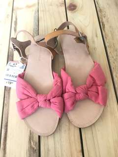 Brand new Zara Girl sandals