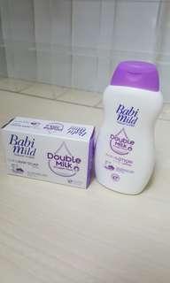 Babi Mild Baby Lotion & Soap Set