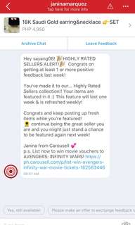 Thank you CAROUSEL for oppotunity to earn❤️