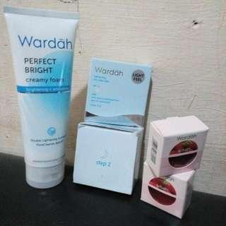 Creamy Foam Ukuran Bsr Wardah.cream Wardah Step 2 Malam.refill Wqrdah Lightening No.2,lip Blam Setobeeri 2pcs
