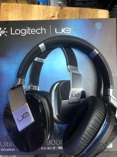 Logitech UE9000 抗噪耳機(有線冇線)