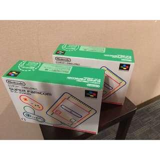 九成九新 原廠 迷你超級任天堂 mini Nintendo super famicom